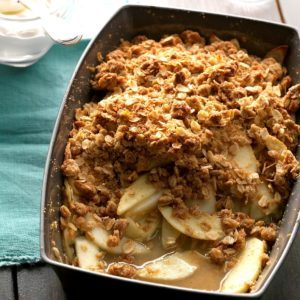 Ginger Apple-Pear Crisp