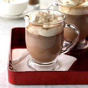Honey-Bourbon Hot Chocolate