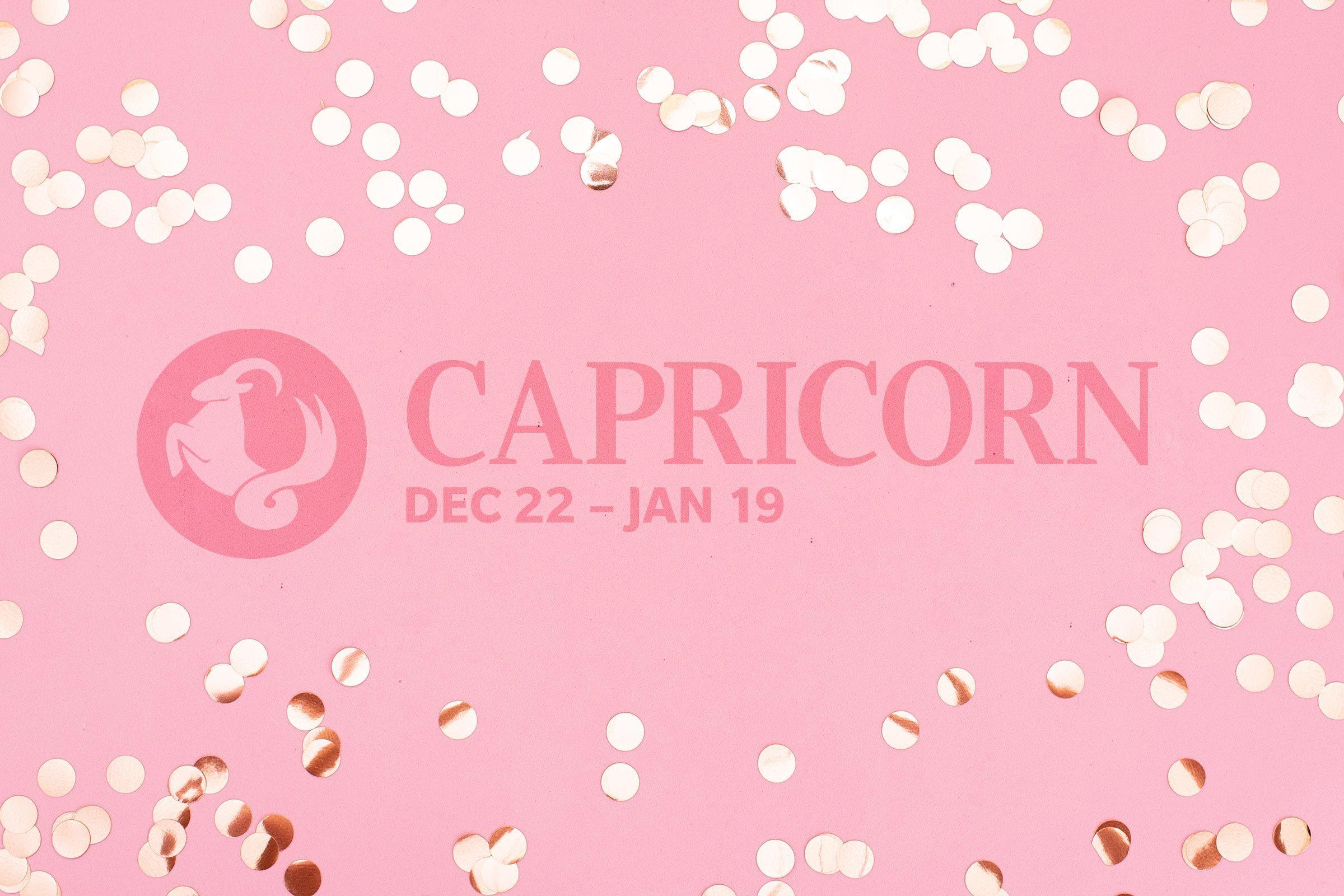 Capricorn (December 22–January 19)