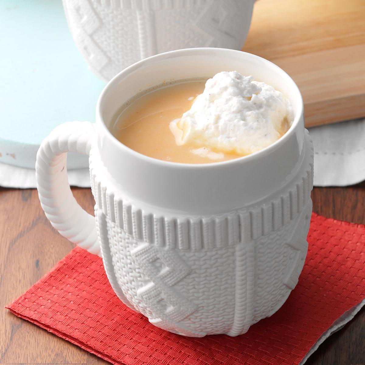 Pumpkin-Spiced Hot Chocolate