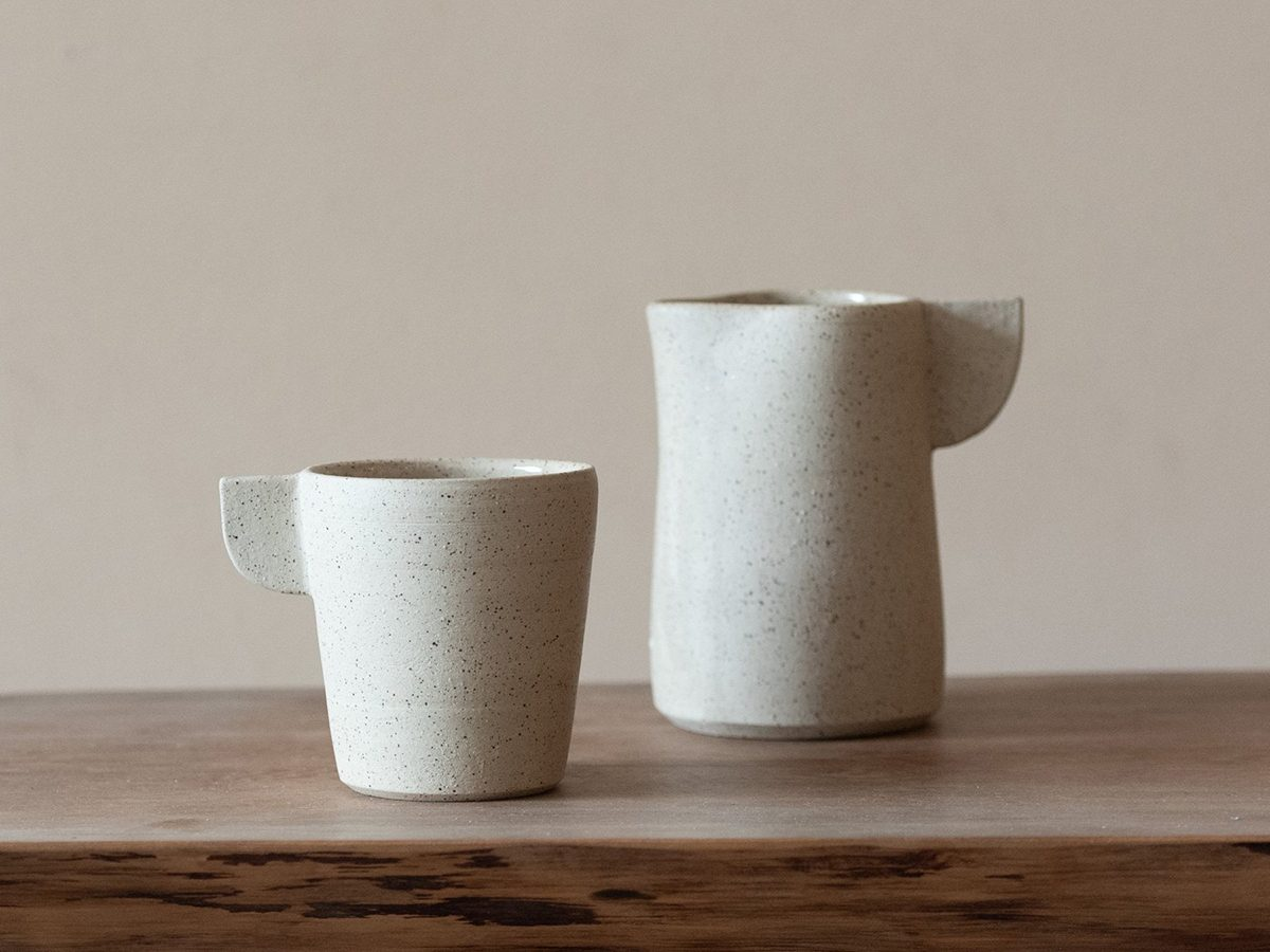 Merge Mug with Flat Wing Handle