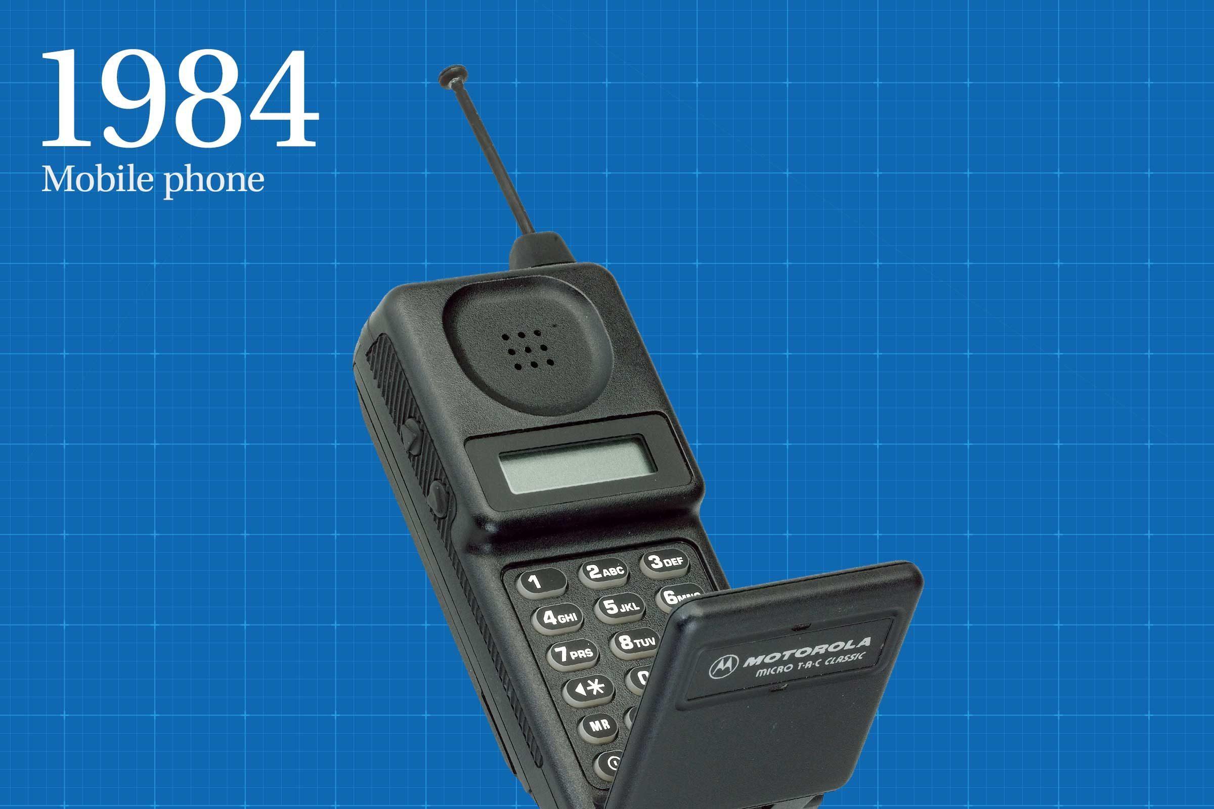 1984: Mobile phone