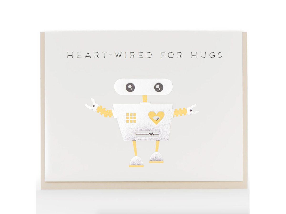 Porchlight Press Robot Hug Modern Card