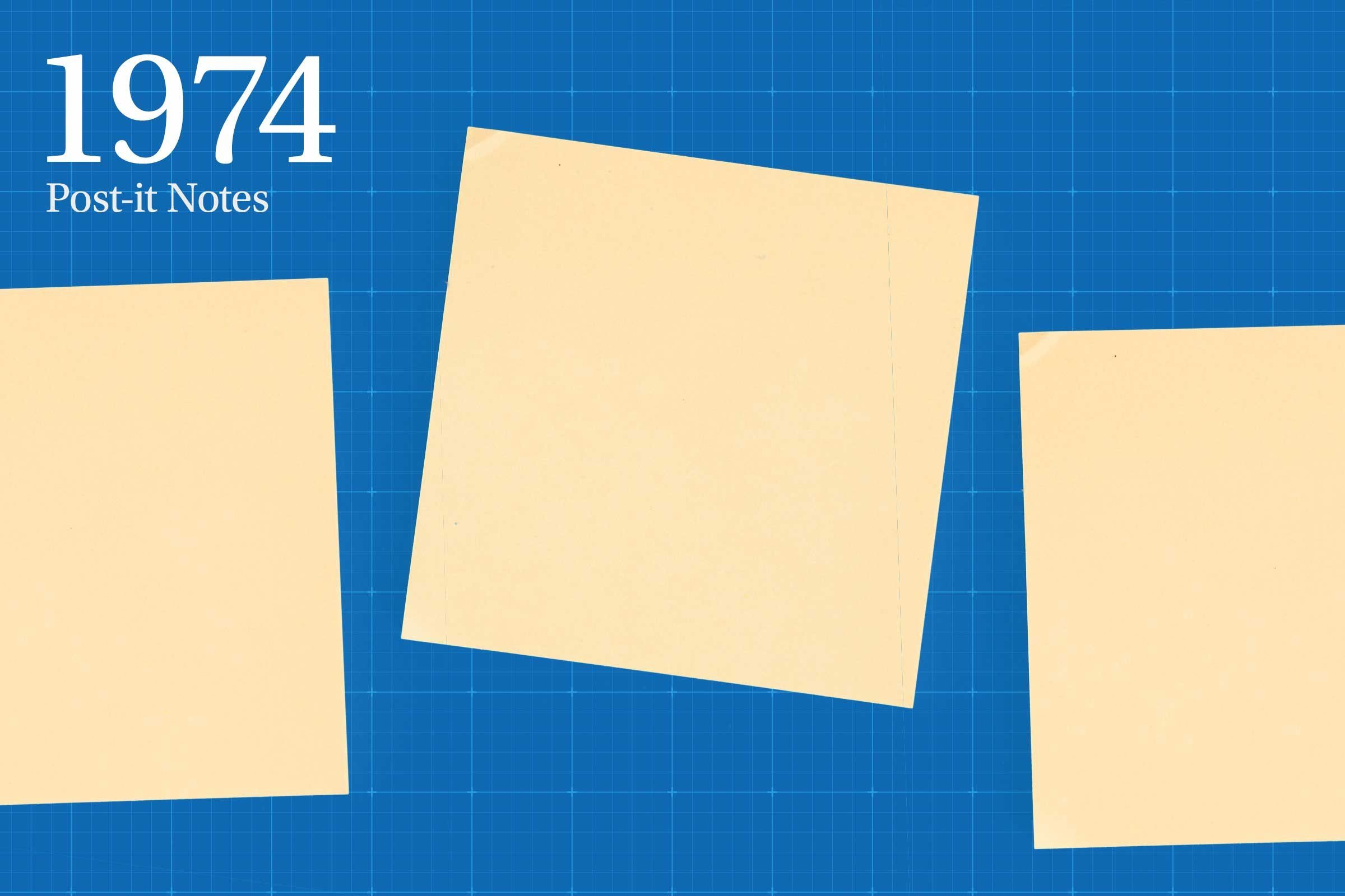 1974: Post-it Notes