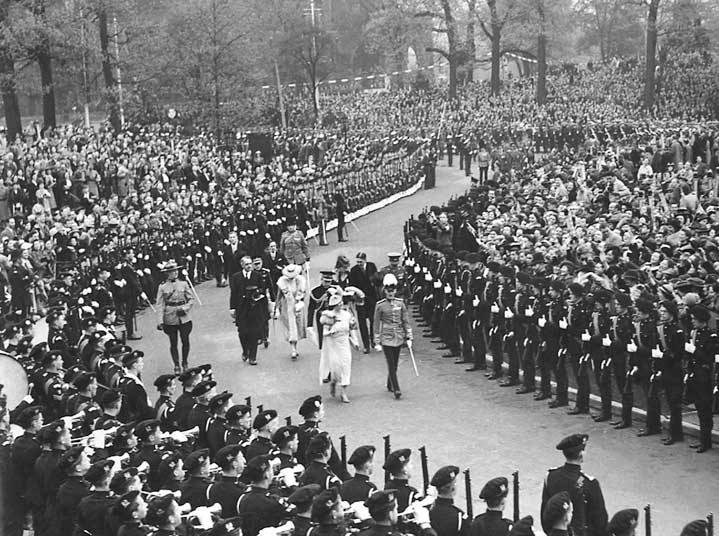 Royal tours of Canada - King George VI and Queen Elizabeth 1939