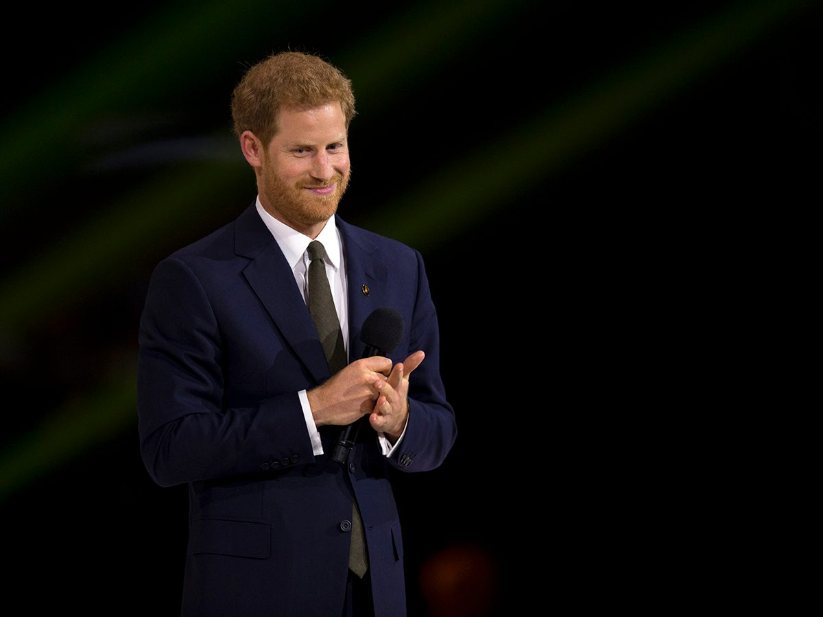Royal tours of Canada - Prince Harry at opening ceremonies of Invictus Games in Toronto, 2017