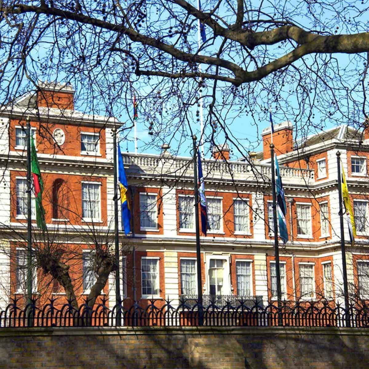 Clarence House british palaces