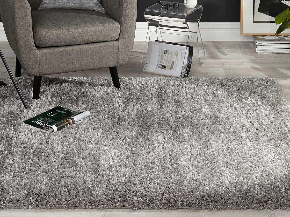 Simons shag area rug