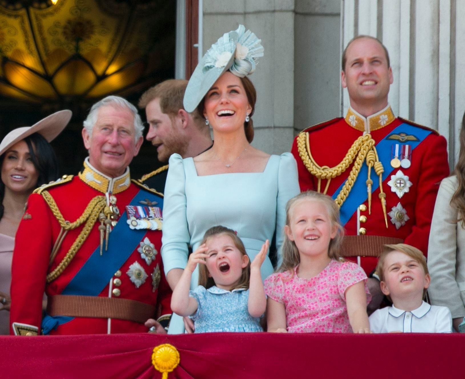Trooping the Colour ceremony, London, UK - 09 Jun 2018