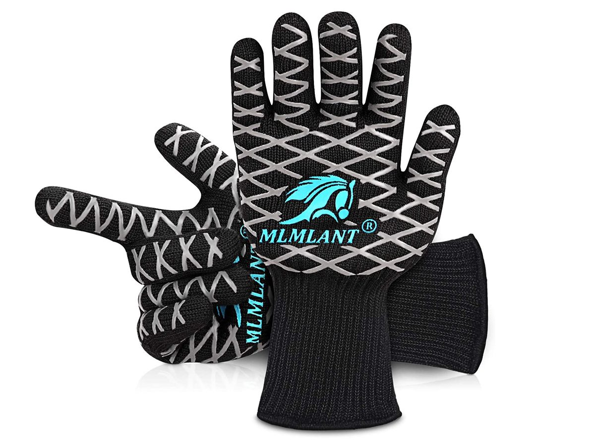 Winter grilling tips - Amazon grilling gloves