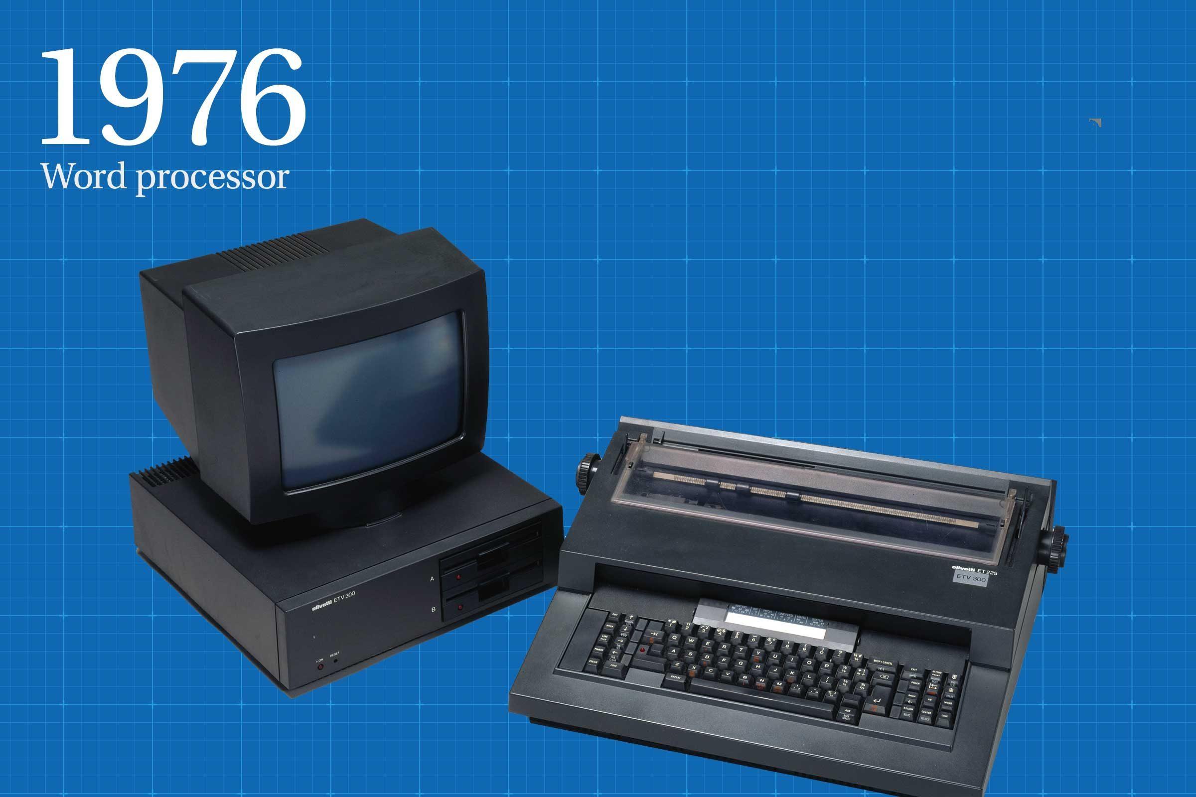 1976: Word processor