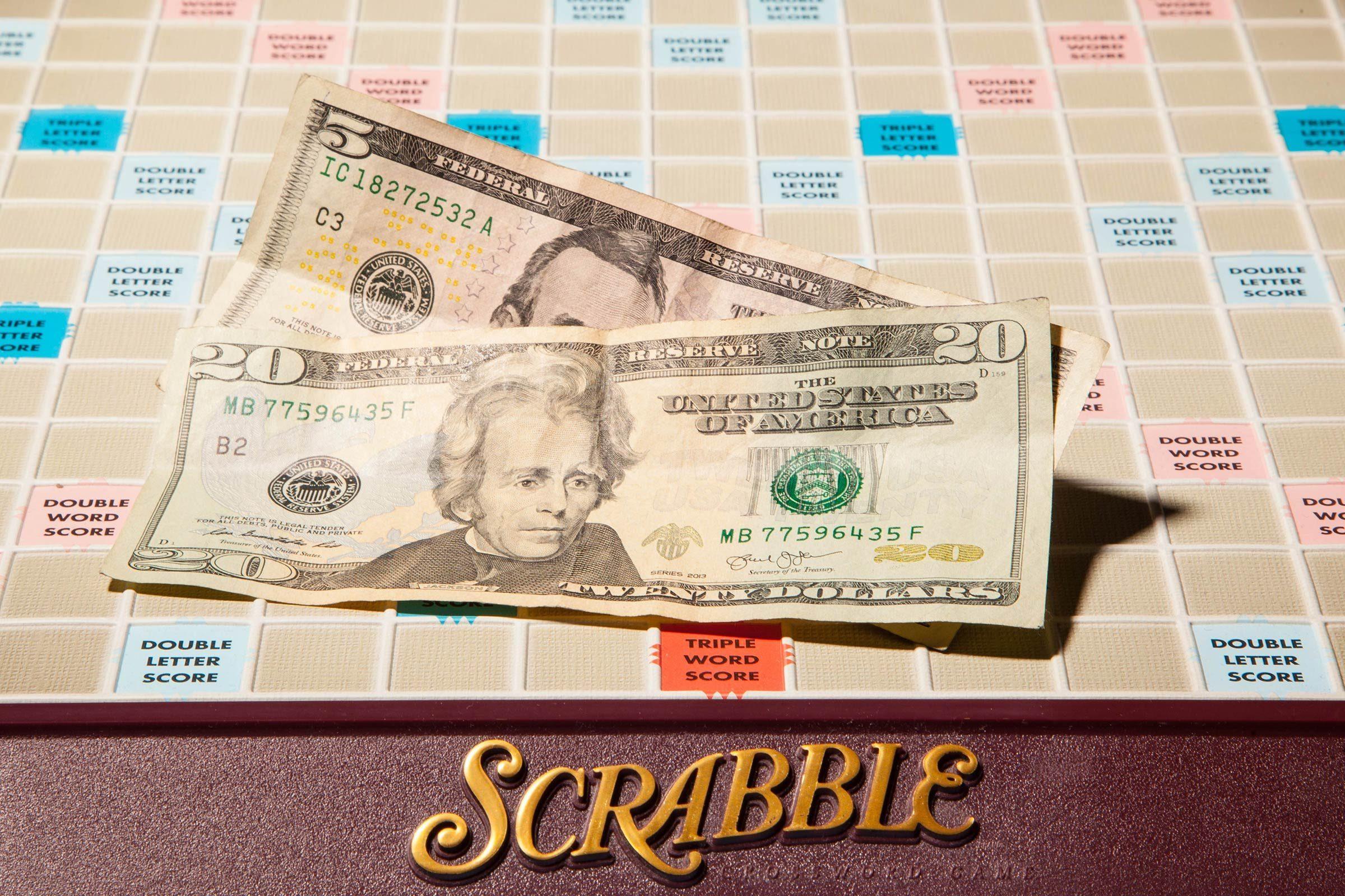 scrabble game show cash