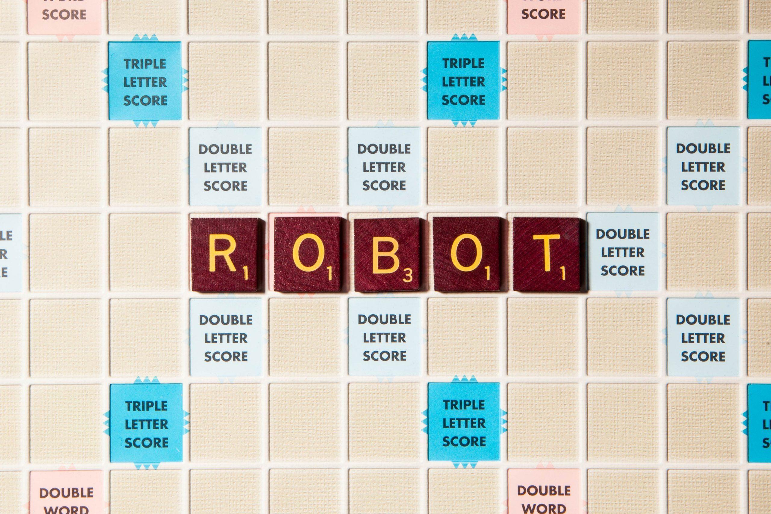 scrabble robot letters