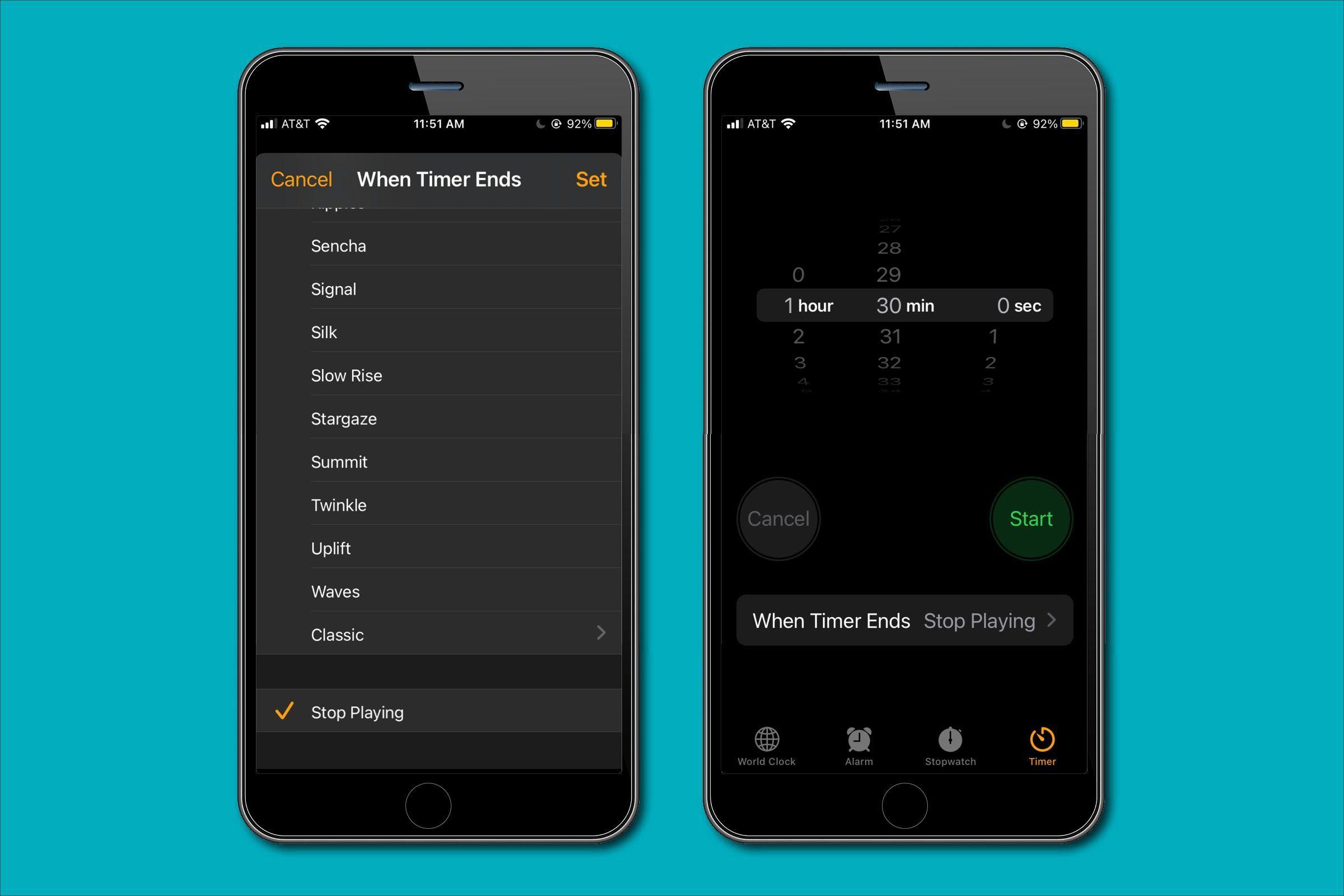 Use your iPhone playlist as a sleep aid