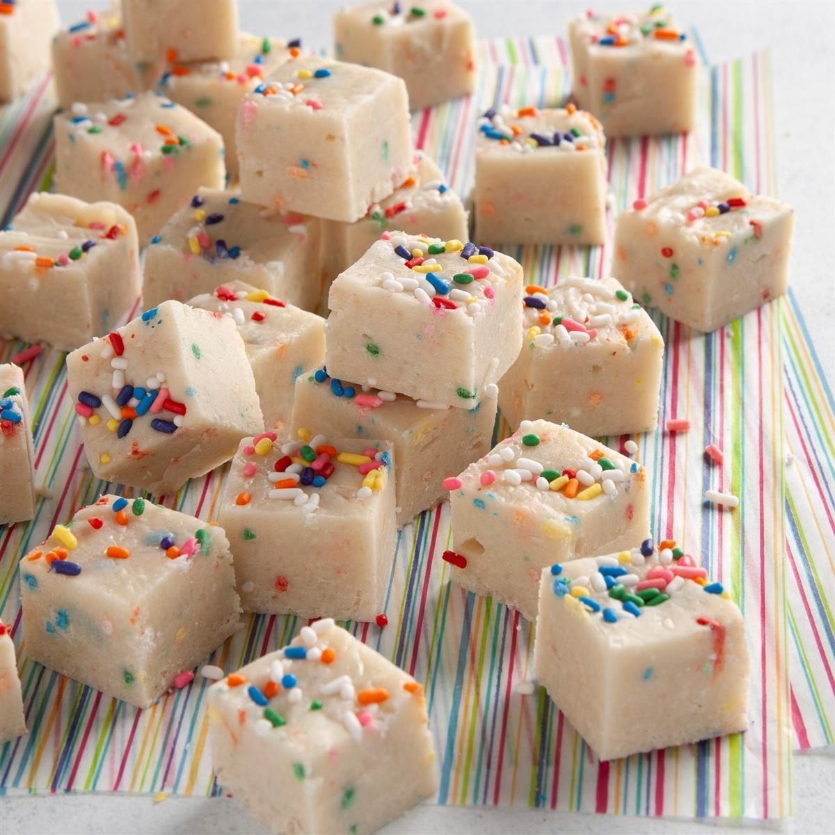 Birthday Cake Fudge