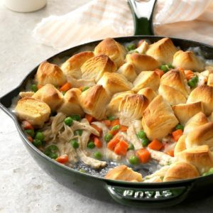 Chicken Biscuit Skillet