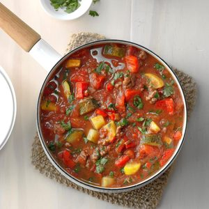 Ground Beef Veggie Stew