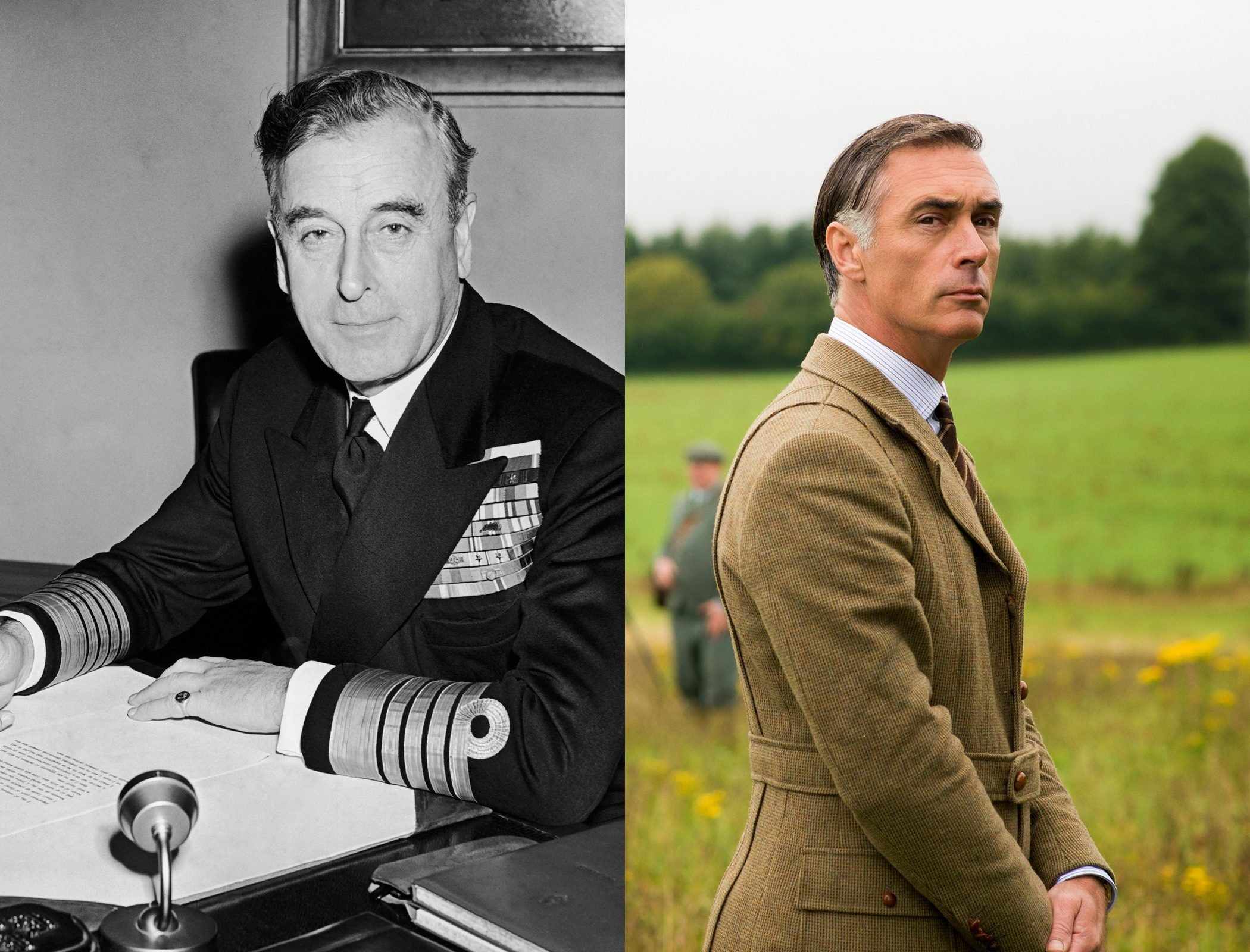 Lord Louis Mountbatten (aka Uncle Dickie), as played by Greg Wise