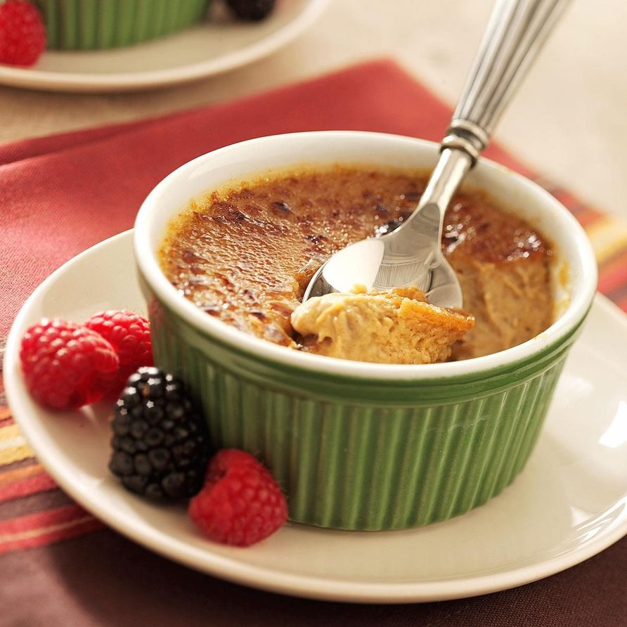 Maple creme brulee recipe