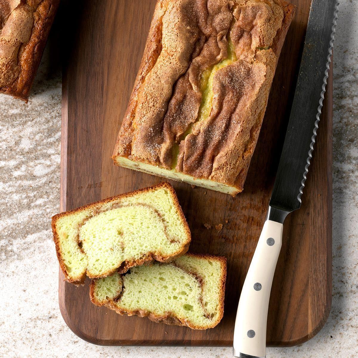 Pistachio Quick Bread