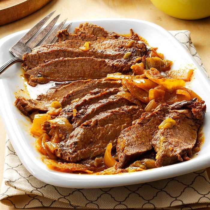 Slow-Cooked Tex-Mex Flank Steak