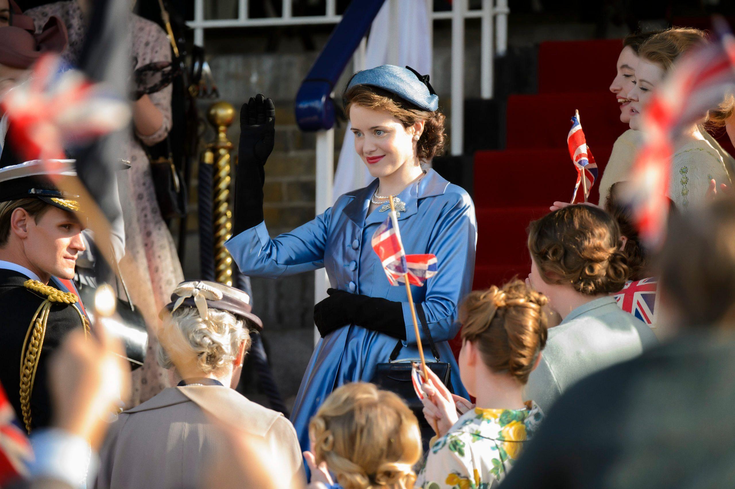 Queen Elizabeth on The Crown