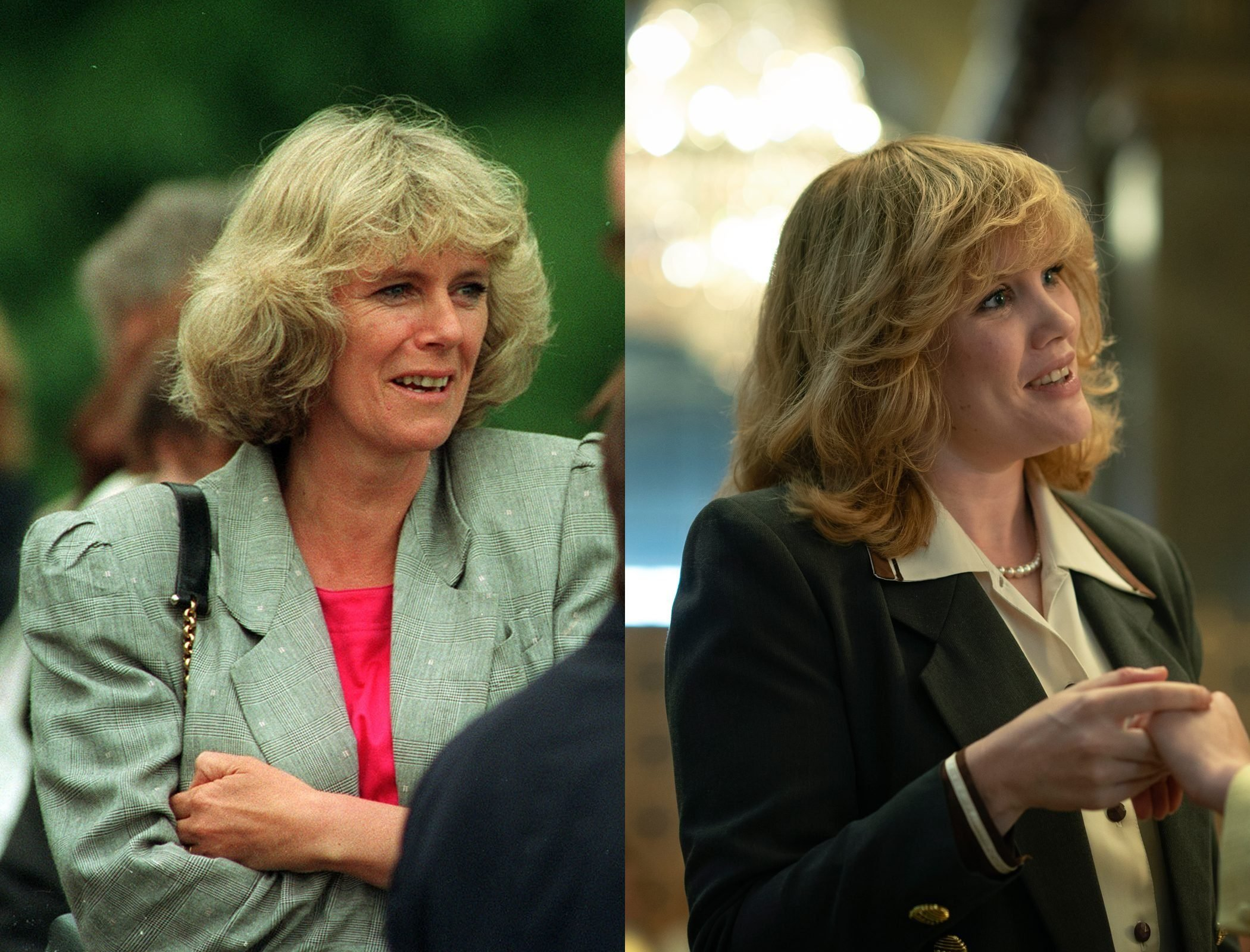 Camilla Shand Parker-Bowles, as played by Emerald Fennell