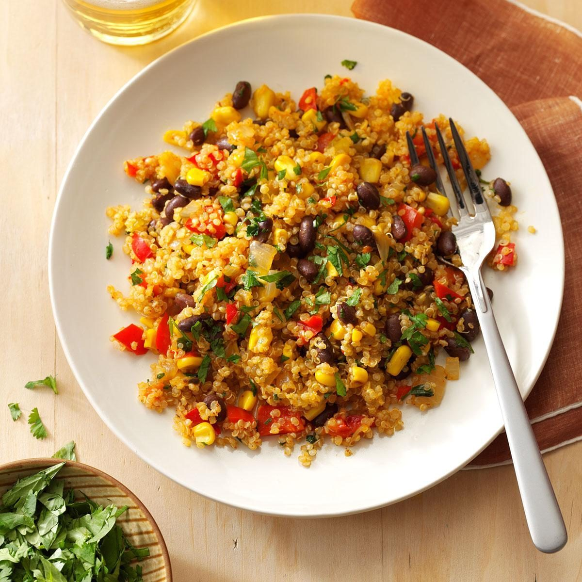 Tuesday: Black Bean & Corn Quinoa