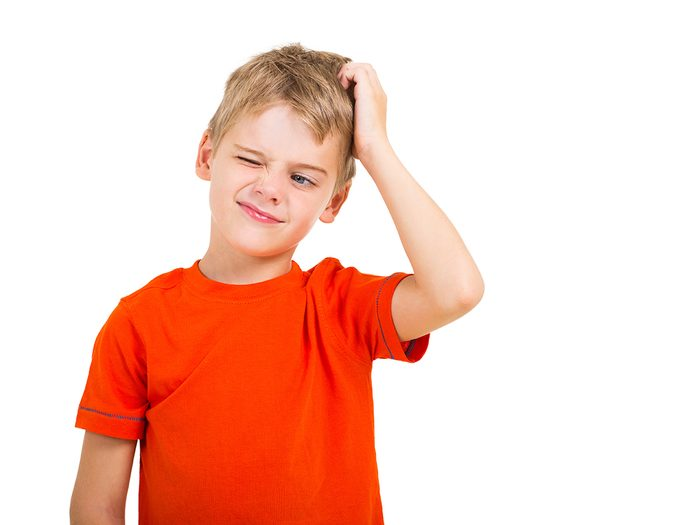 Funny parent tweets - confused little boy