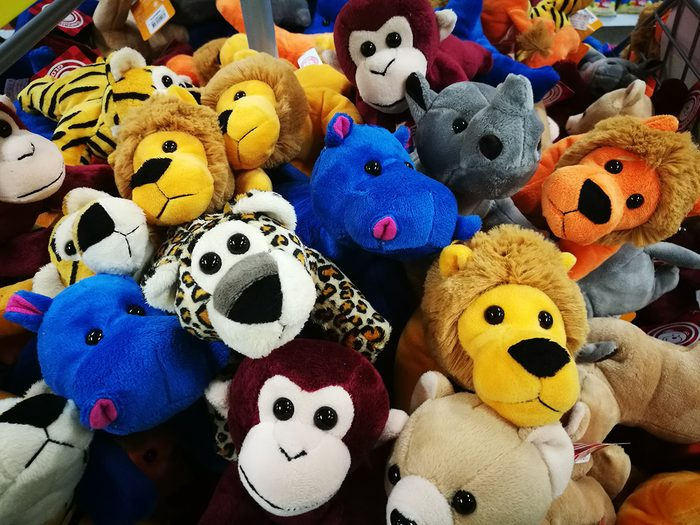 Funny parent tweets - stuffed animals