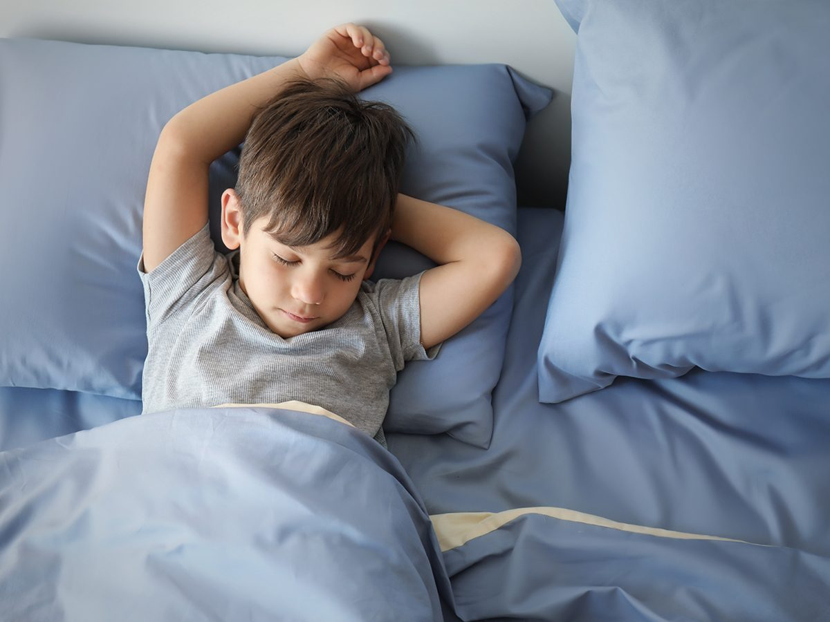Funny Parenting Tweets - Sleeping Little Boy