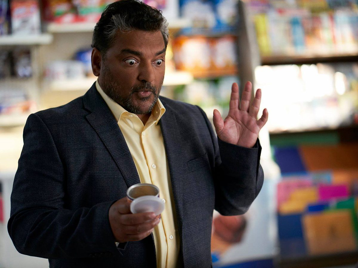 Kims Convenience Quotes - Mr. Mehta in the store