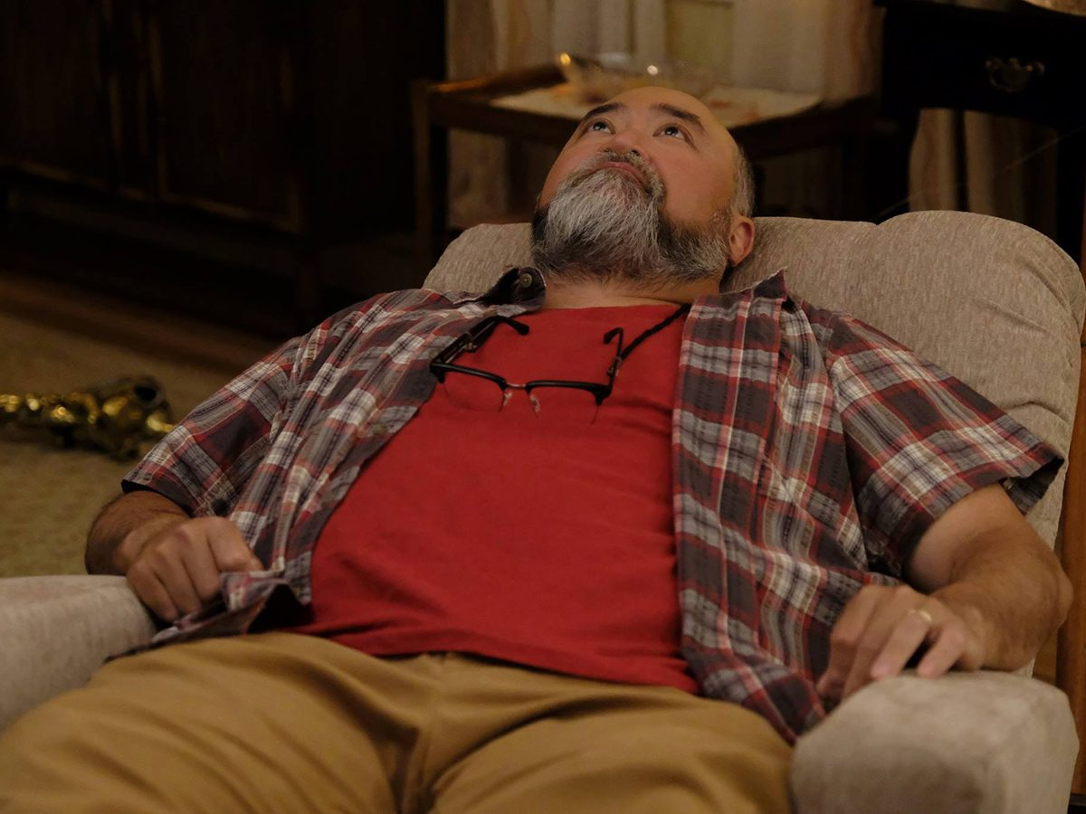 Kims Convenience Quotes - Appa reclining on a chair