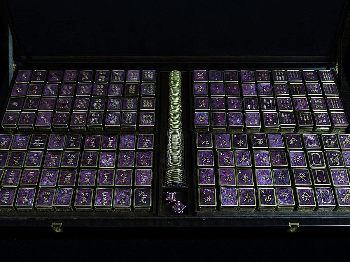 Mahjong Facts S.T. Dupont Set