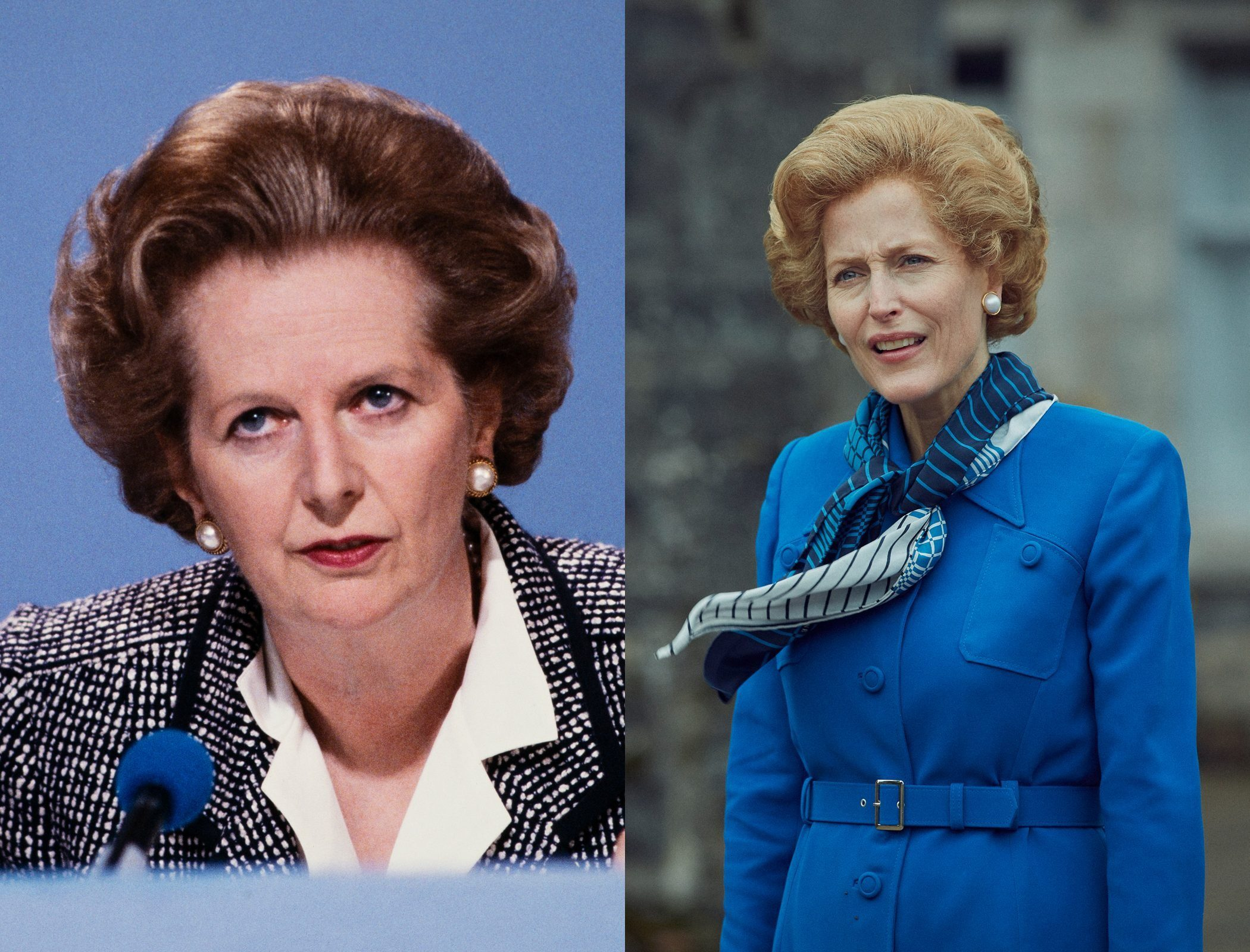 Prime Minister Margaret Thatcher on The Crown