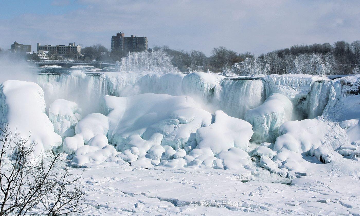 Niagara Falls In Winter - American Falls