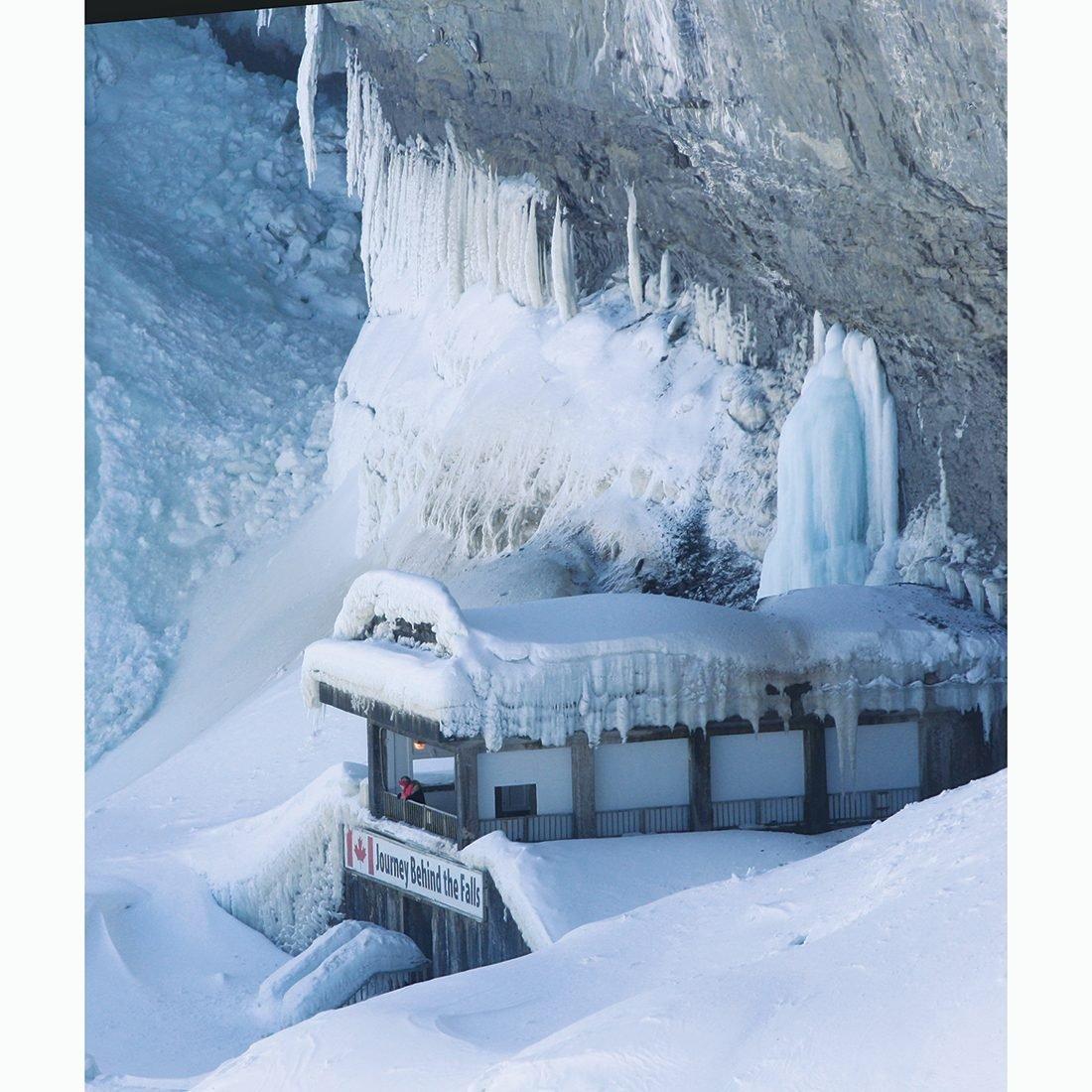 Niagara Falls In Winter - Journey Behind The Falls