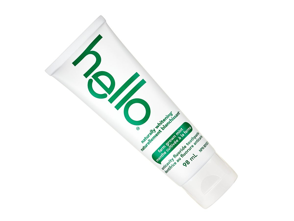 Test Drive - Hello Naturally Whitening Toothpaste