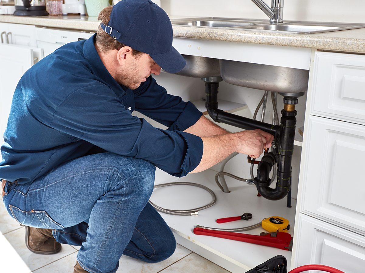 Things plumbers would never do in their own homes