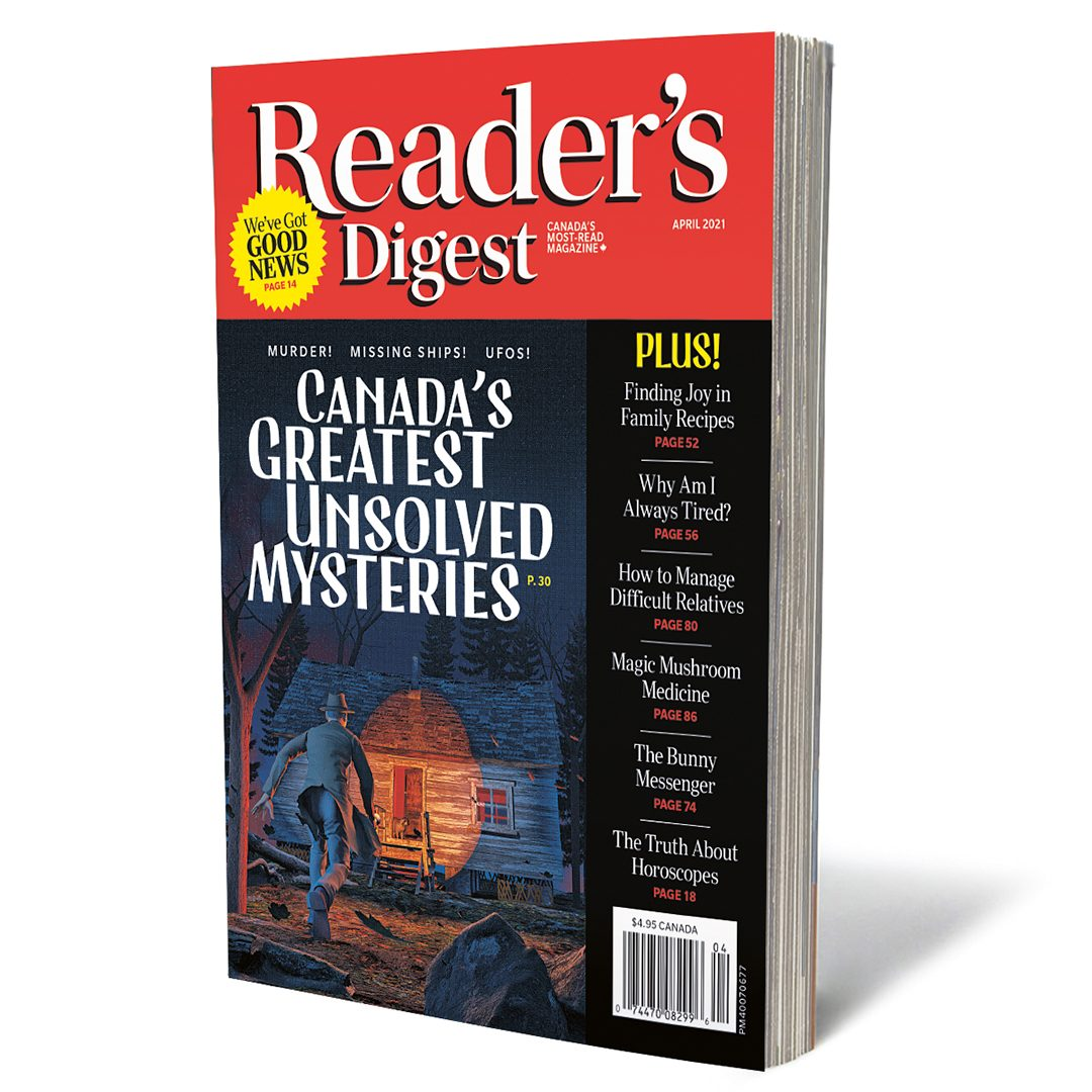 Reader's Digest Canada - April 2021 cover