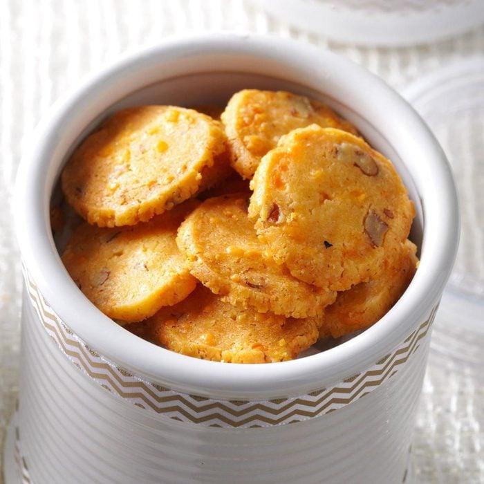 Cheddar Pecan Crisps recipe