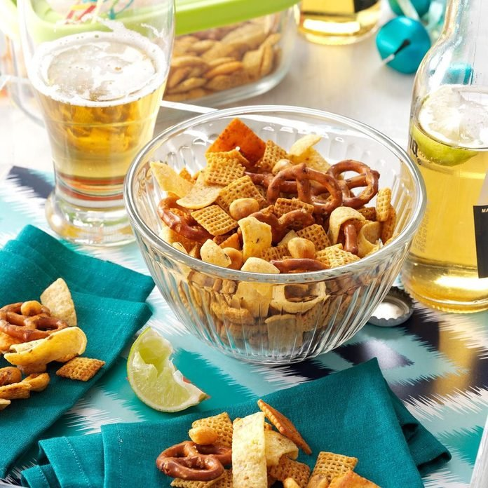 Chili Lime Snack Mix recipe