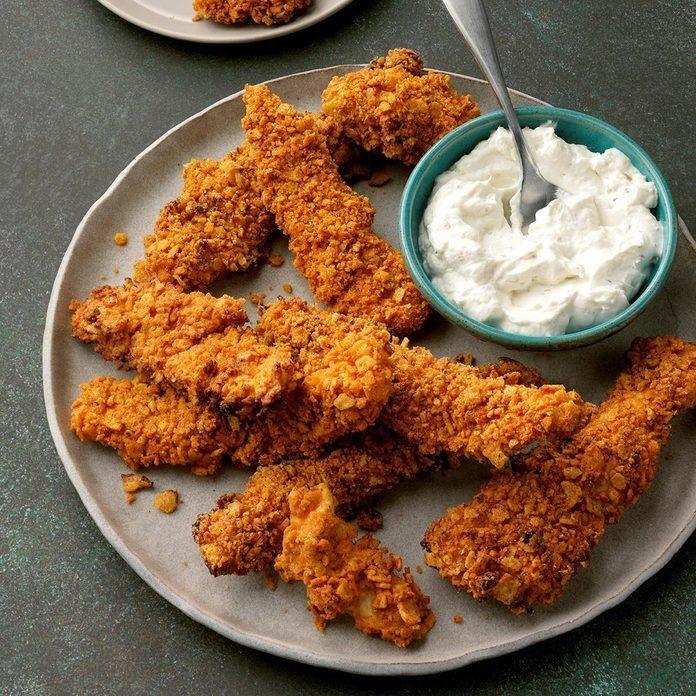 Air-Fryer Fiesta Chicken Fingers recipe