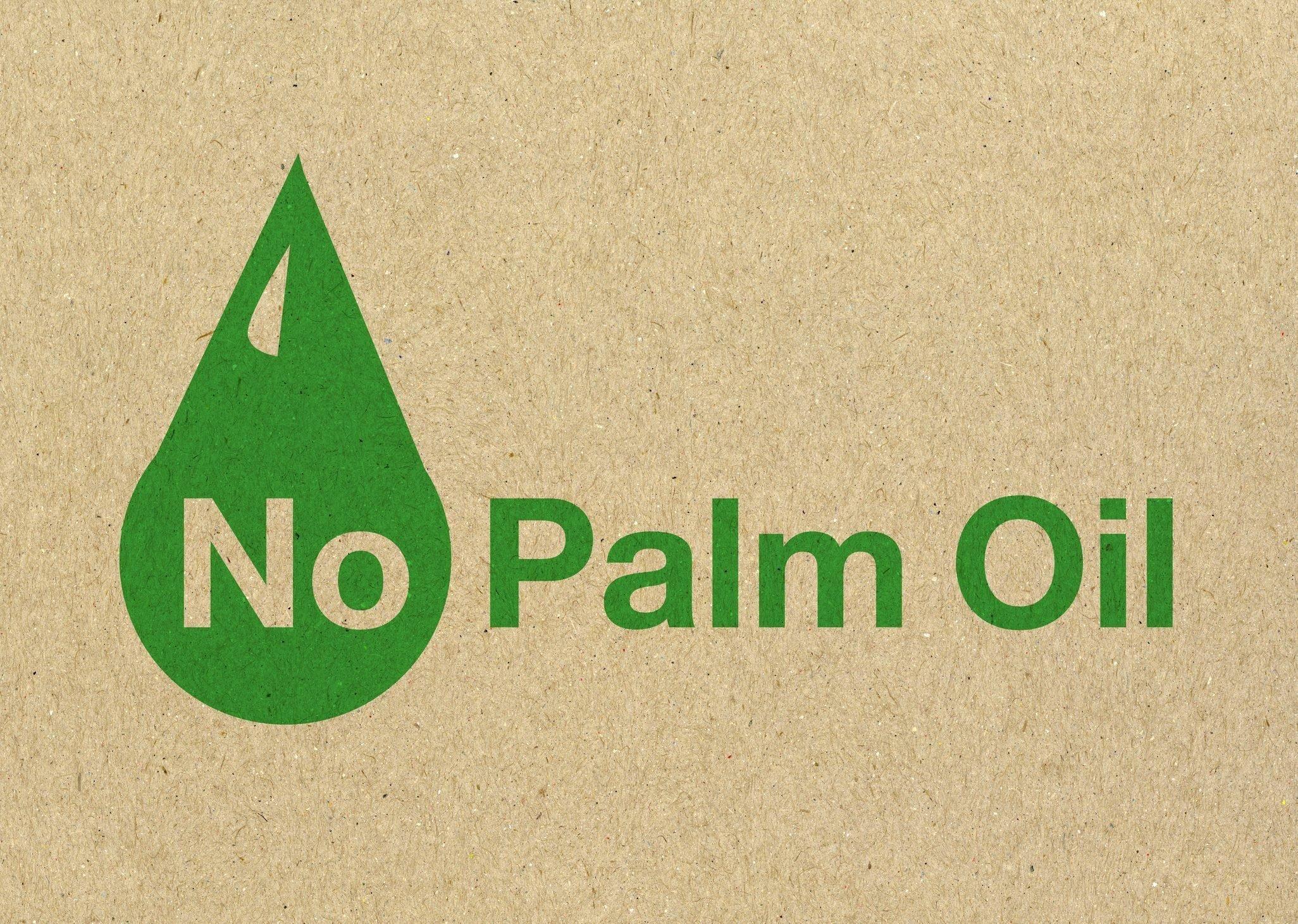 No Palm Oil logo