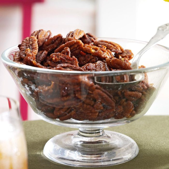 Ginger Maple Roasted Pecans recipe