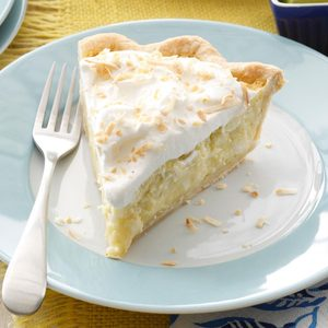 Lime & Coconut Cream Pie