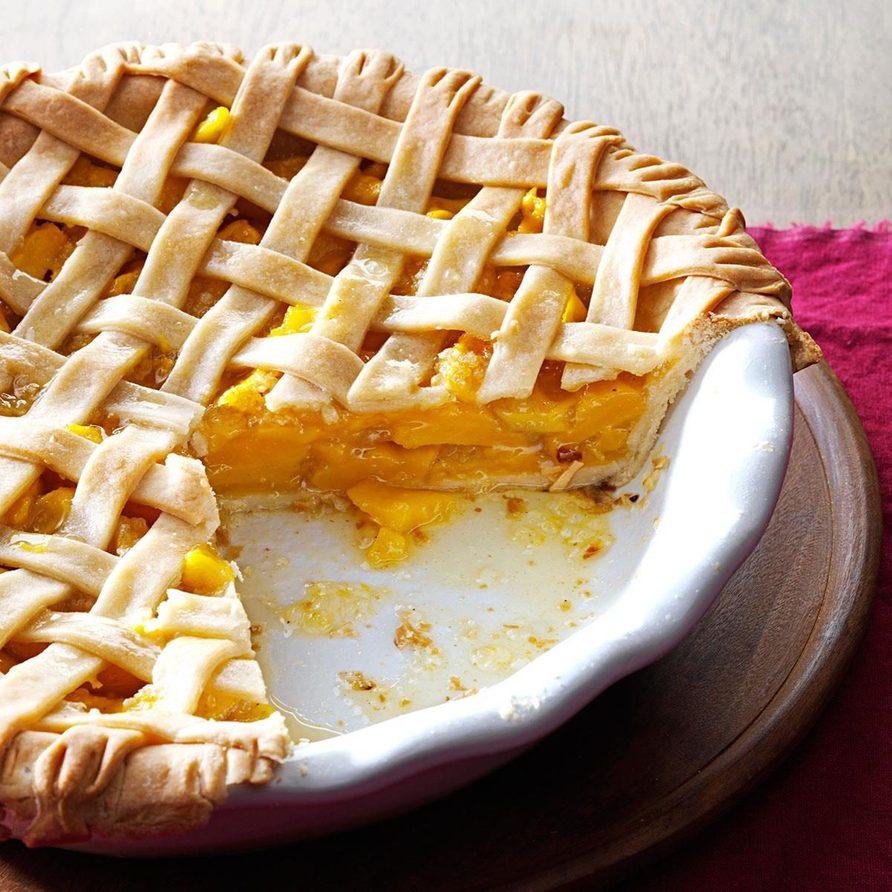 Mango Pie With Coconut Crust recipe