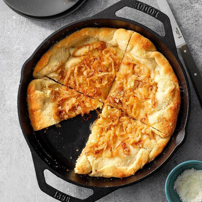 Sweet Onion Bread Skillet recipe