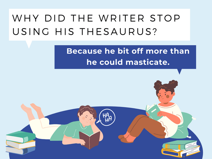 Thesaurus Jokes- All You Can Eat