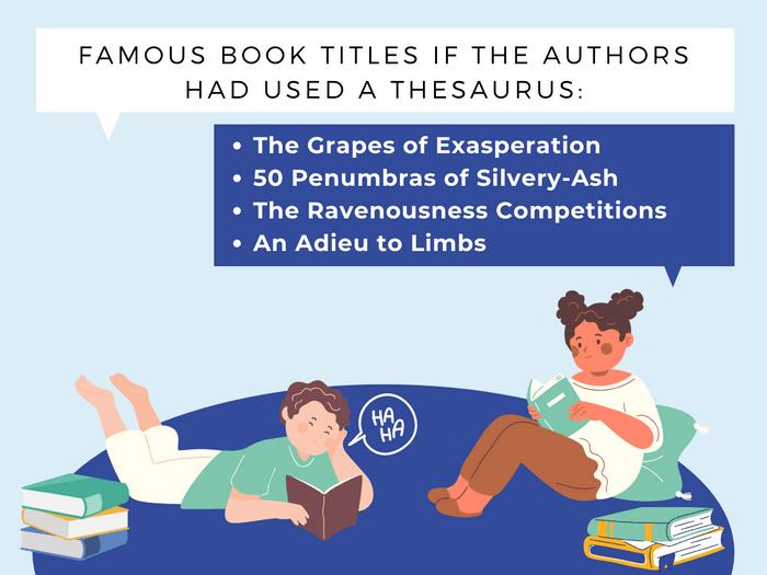 Thesaurus Jokes- Best Seller Twist